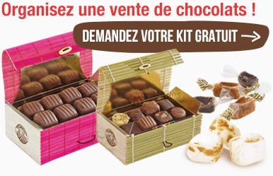 chocolat de noel pour association