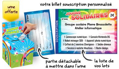 billet souscription