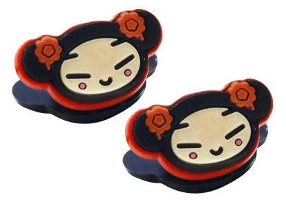 Lot de 12 pinces à cheveux Pucca