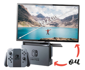 Console Switch OU TV 122 cm