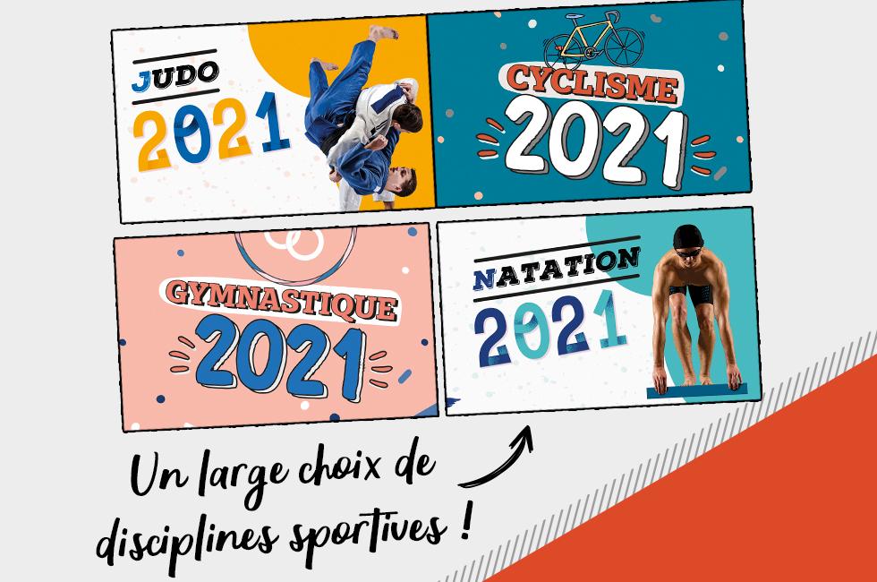Calendrier 2021 Sportif Calendrier 2021 agenda photos Sport   Initiatives Sport