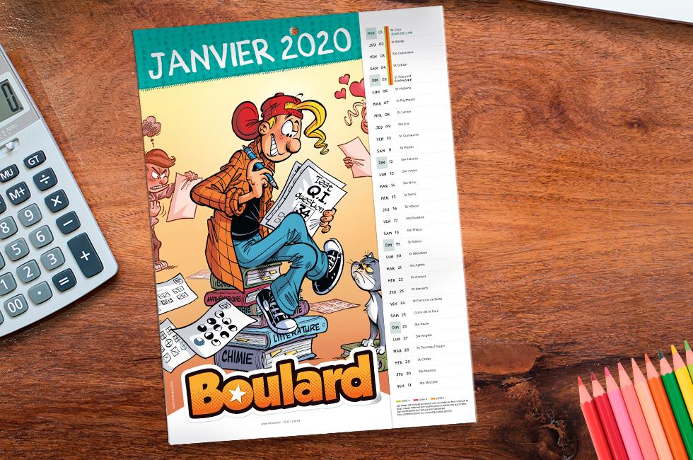 Initiatives Calendrier.Calendrier Boulard 2020 Initiatives Calendriers