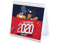 Calendrier Chevalet Photos Sport