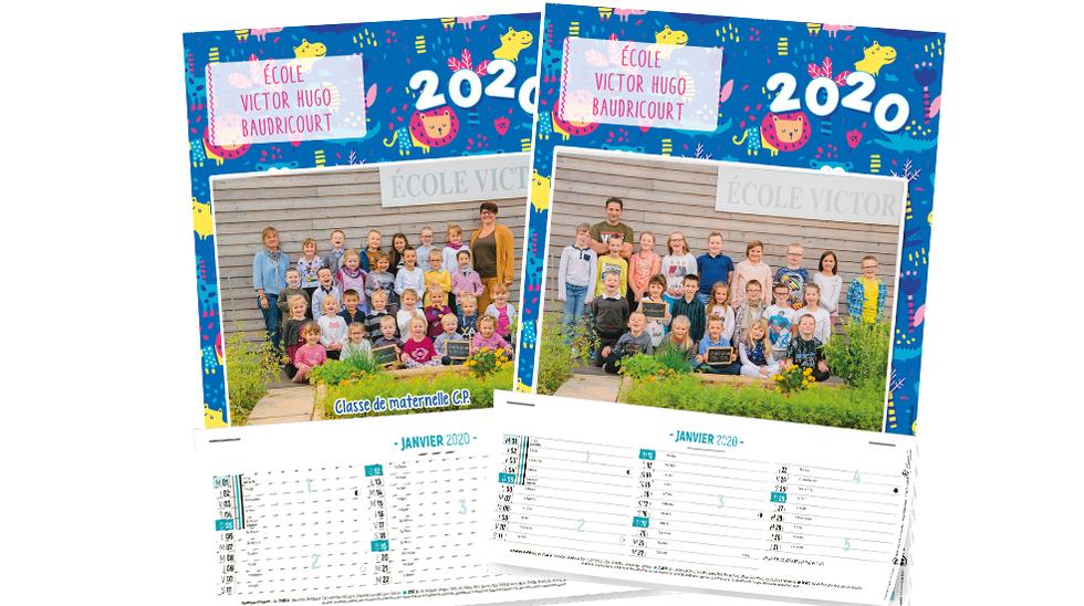 Calendrier 202016 A Imprimer.Calendrier Photos Ephemeride Agrafee 2020 Initiatives