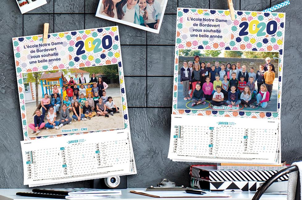 Initiatives Calendrier.Calendrier Photo De Classe Eph Agrafee 2020 Initiatives