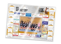 Calendrier photo sous-main sponsors