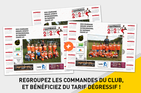 Calendrier photo sous-main sponsors 3