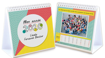 Calendrier photos chevalet école 2020