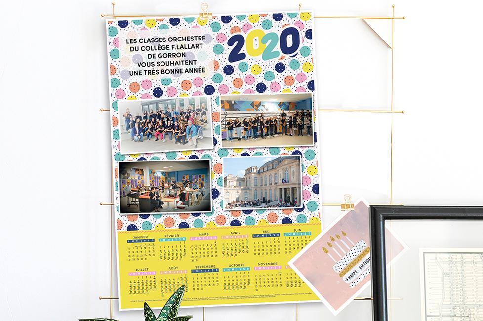 Calendrier 202016 A Imprimer.Calendrier Photos Ephemeride Imprimee 2020 Initiatives