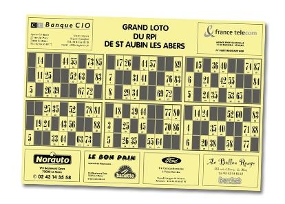 "Carte de 6 grilles de <span class=""search-keyword"">loto</span>"