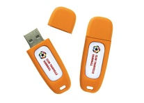 Clé USB 16 Go ORANGE personnalisable