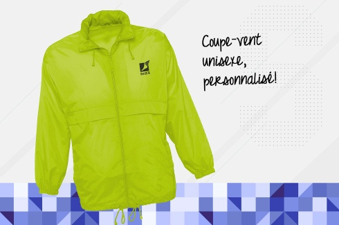 Coupe-Vent LIME FLUO 3
