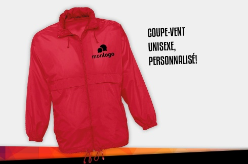Coupe-Vent rouge 2