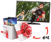 Coupon d'échange TV 100 cm OU Carte Wond