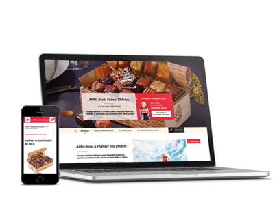 Une boutique en ligne personnalisée à vos couleurs