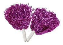 Lot de 12 pom-pom girl