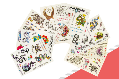 Lot de 16 tatouages 2