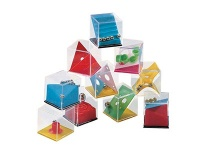 Lot de 24 cubes jeu de patience