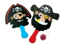 Lot de 24 tape-balles pirate