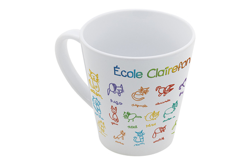 """Résultat de recherche d'images pour """"mug conique décoré école"""""""