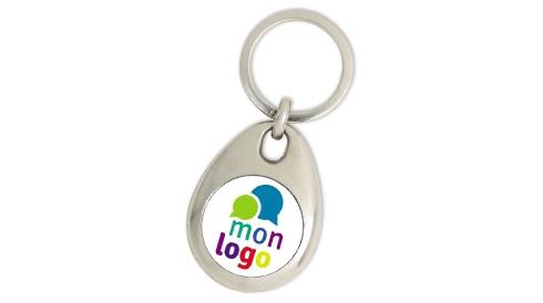 Les porte-clés jeton métal personnalisé - Initiatives Sport 2085c9875de