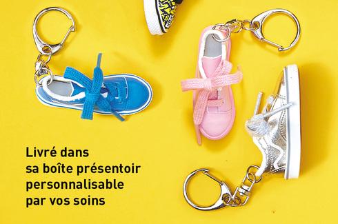 Porte-clés mini-chaussures Vibes  br 10 modèles - Initiatives Objets  Tendances c6b31376030