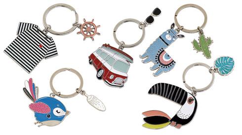 Porte-clés Zoliday br 5 modèles - Initiatives Objets Tendances dc80e3c8669