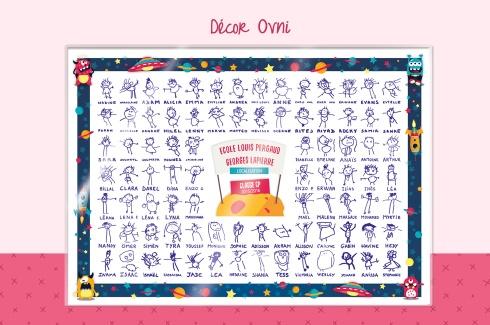 Set de table dessins d 39 enfants initiatives cr ations des - Set de table enfants ...