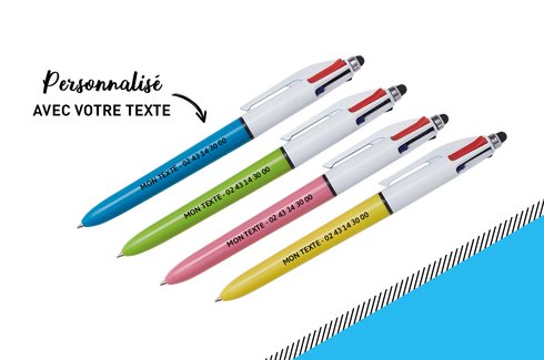 Stylo 4 couleurs original 2