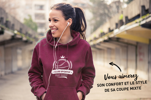 Sweat Bordeaux 2