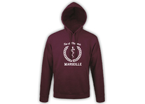 Sweat bordeaux à personnaliser
