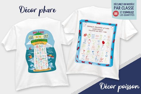 Tee-shirt dessins d'enfants 3