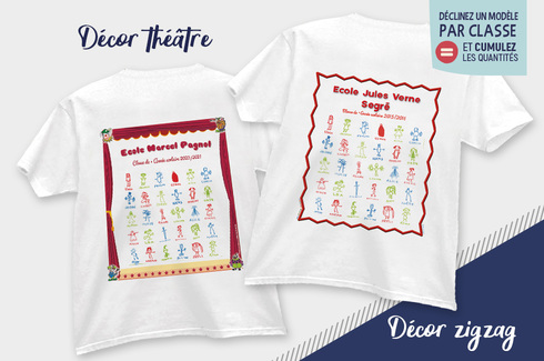 Tee-shirt dessins d'enfants 2