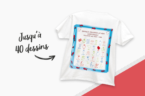 Tee-shirt dessins d'enfants 1