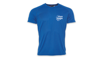 Tee shirt respirant Bleu royal