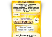 Tickets à gratter Double chance