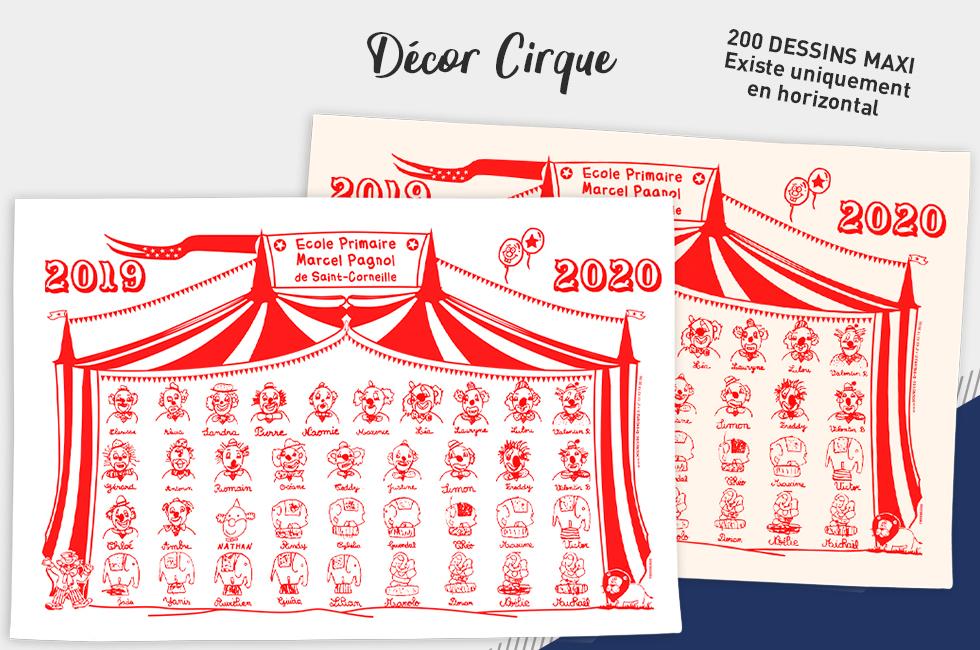36afb1709890f Torchon décoratif classique - Initiatives Créations des enfants