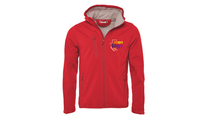Veste softshell ROUGE